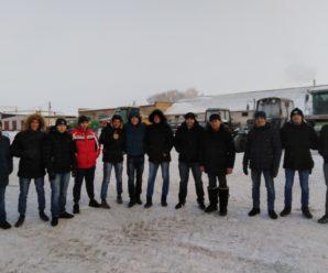 Экскурсия для выпускных групп в ООО АП им. Калинина
