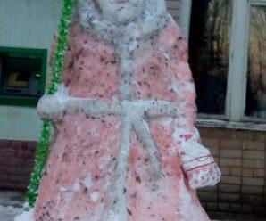 Конкурс снежных фигур — СМК с.Наумовка